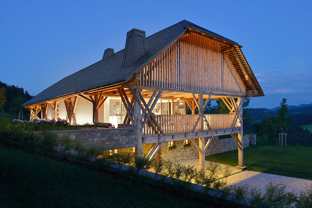 Pavillion in a hayrack, Slovenia | Category winner of the Life Challenge 2018