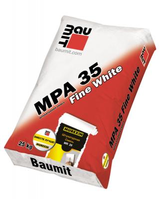 Baumit MPA 35 Fine White